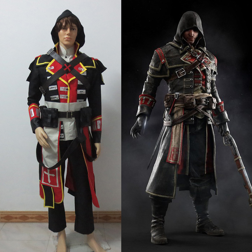 Assassin S Creed Rogue Shay Patrick Cosplay Costume 9749dd