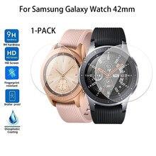 Защита экрана из закаленного стекла для умных часов samsung Galaxy Watch 42 мм/46 мм