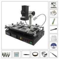 BGA soldering station IR8500 motherboard repair welding machine with 20pcs 80MM 90MM stencil