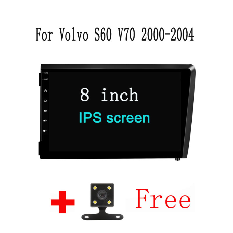 8&#8243; Android 8.0 Octa Core PX5/PX3 Fit <font><b>Volvo</b></font> S60 V70 2001 2002 2003 2004 Car DVD Player Navigation GPS 3G TV Radio