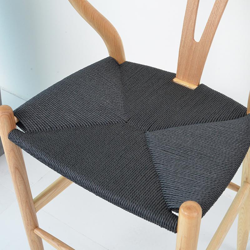 Скандинавский современный из натурального дерева простой обеденной стул из ясеня для отдыха дома спинка деревянного кресла Кеннеди китайский стиль Y стул - Цвет: style 4