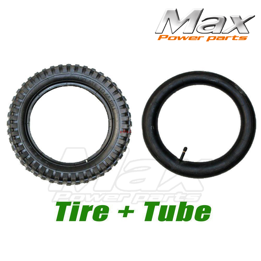 12 1/2 x 2.75 (12.5 x 2.75) Tire and Inner Tube For Mini Pocket Bikes Razor Dirt Bike Rocket Dune Buggy