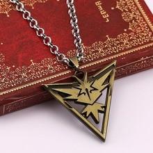 HSIC 5pcs/lot Pokemon Go Metal Alloy Necklace