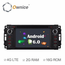 Ownice C500 Android 6.0 Quad Core 2G RAM Car DVD GPS for Jeep Grand Cherokee Commander Compass Patriot Wrangler Support 4G LTE