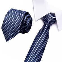 Fashion Classic Silk Ties for Men 7.5cm Width Striped Mens Neckties for Wedding Business Formal Wear Suit Jacquard Woven Tie цена