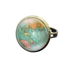 Compra world maps ring y disfruta del envo gratuito en aliexpress 2018 nuevo estilo anillo multicolor mapa mapa del mundo mapa de la joyera anillo anillos ajustables de cristal redondo para muj gumiabroncs Gallery