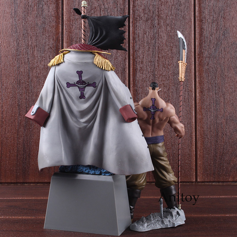 DXF One Piece Figure The Grandline Men Special Whitebeard Edward Newgate & Gravestone PVC Action Figure Collectible Model Toy 5