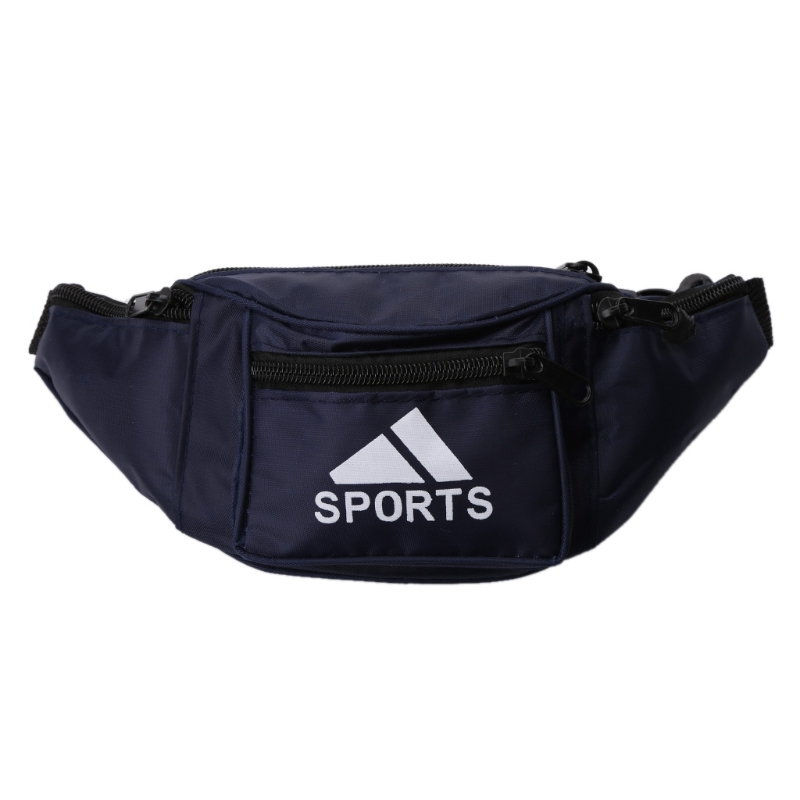 3 Colors THINKTHENDO Waterproof  Bum Waist Bag Pouch Wallet Pack Waterproof Canvas Travel Men's Money Belt Adjustable Strap