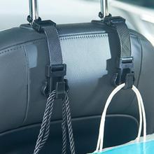 Новое поступление, 1 шт., автомобильная портативная вешалка для сиденья, кошелек, сумка, держатель, крючок, подголовник, авто, задний крючок для стоек oc11