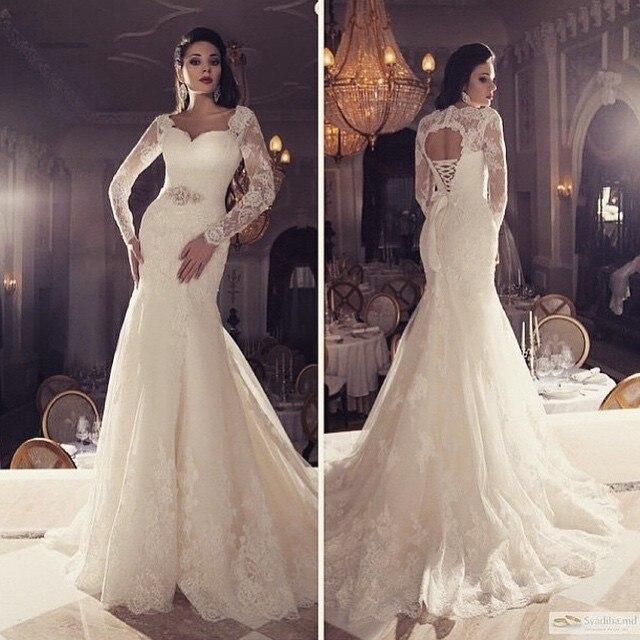 Corset wedding dresses lace