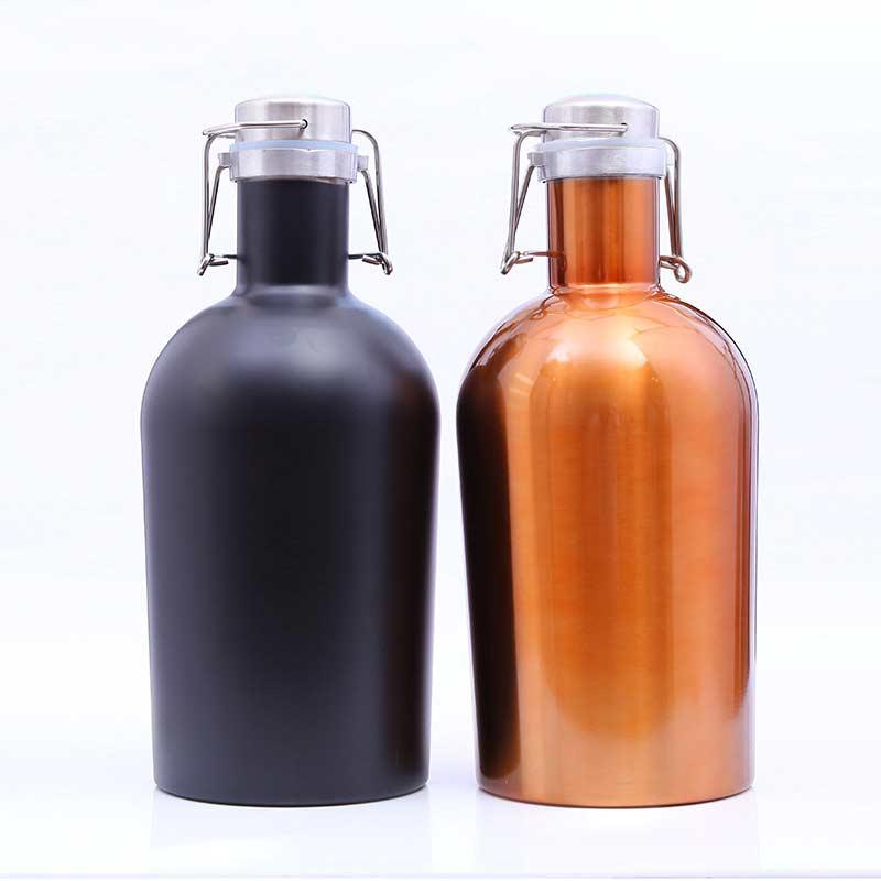 Grande capacité portable nourriture sûre en acier inoxydable hanche flacon alcool liqueur whisky vodka bouteille vin pot drinkware cadeaux