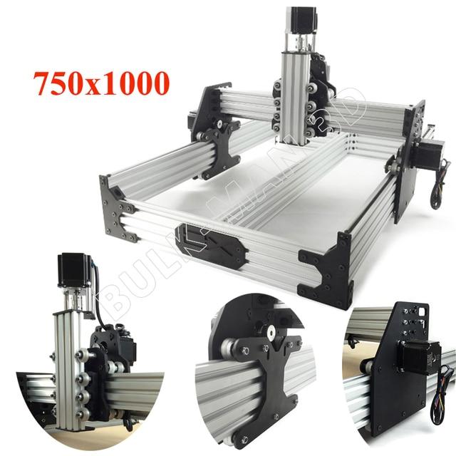 OX CNC 라우터 키트 750x1000mm 4 축 목공 밀링 머신 Nema23 스테퍼 모터에서 175 oz * 데스크탑 DIY 벨트 구동 키트