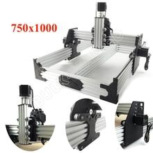 Маршрутизатор OX CNC Kit 750x1000 мм, 4 осевой фрезерный станок для деревообработки, настольный DIY комплект с шаговыми моторами 175 унций * in Nema23