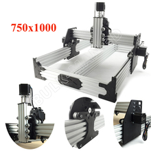 OX CNC Router Kit 750x1000mm 4Axis Woodworking Milling Machine Desktop DIY Belt Driven Kit with 175 oz*in Nema23 Stepper Motors