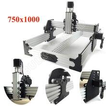 Ox Cnc Router Kit 750X1000Mm 4Axis Houtbewerking Freesmachine Desktop Diy Riem Aangedreven Kit Met 175 oz * In Nema23 Stappenmotoren