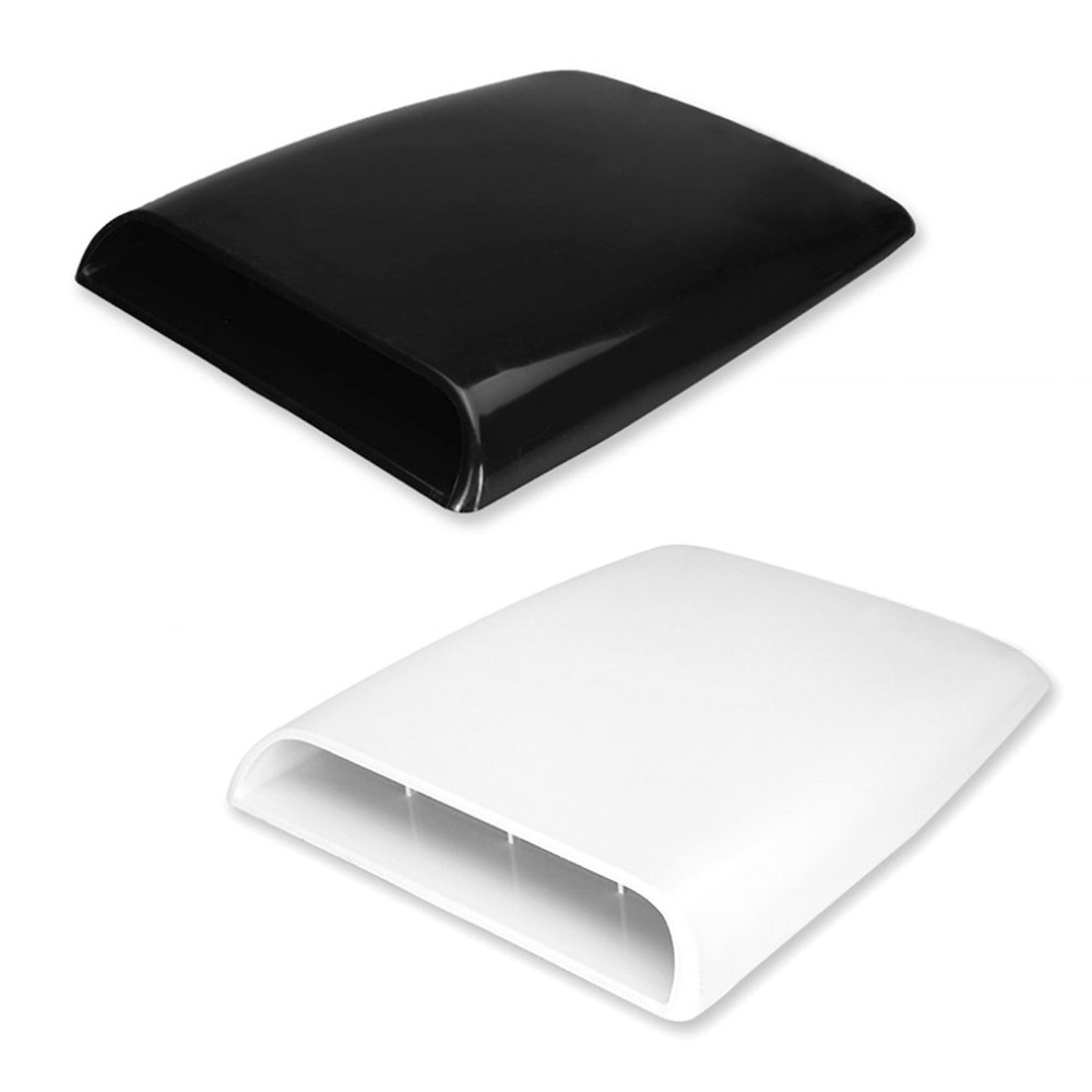 Car Strong Practical Universal Auto 4x4 Air Flow Intake Hood Scoop Bonnet Decorative ABS Vent Cover Decal Car Accessory