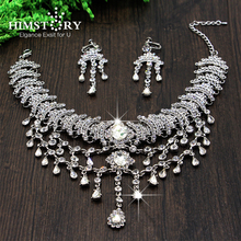 Newest Bohemia Style Silver Auetralia Crystal Teadrop Pendent Bridal Hair Headpiece Wedding Accessory 1111