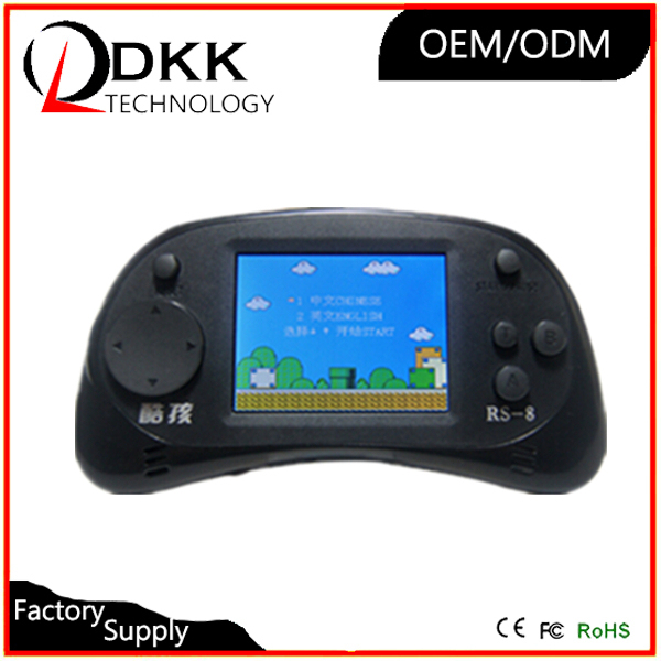 Free Shipping preload 260 classical different mini game 2.5 inch color screen handheld game console game player gift for kids
