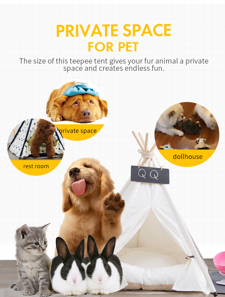 Pet Houses Cat Portable Dog Tents For Small Dogs Foldable Dog House Pet Bed Tent Cat Kennel Indoor Portable Travel Puppy Mats 9