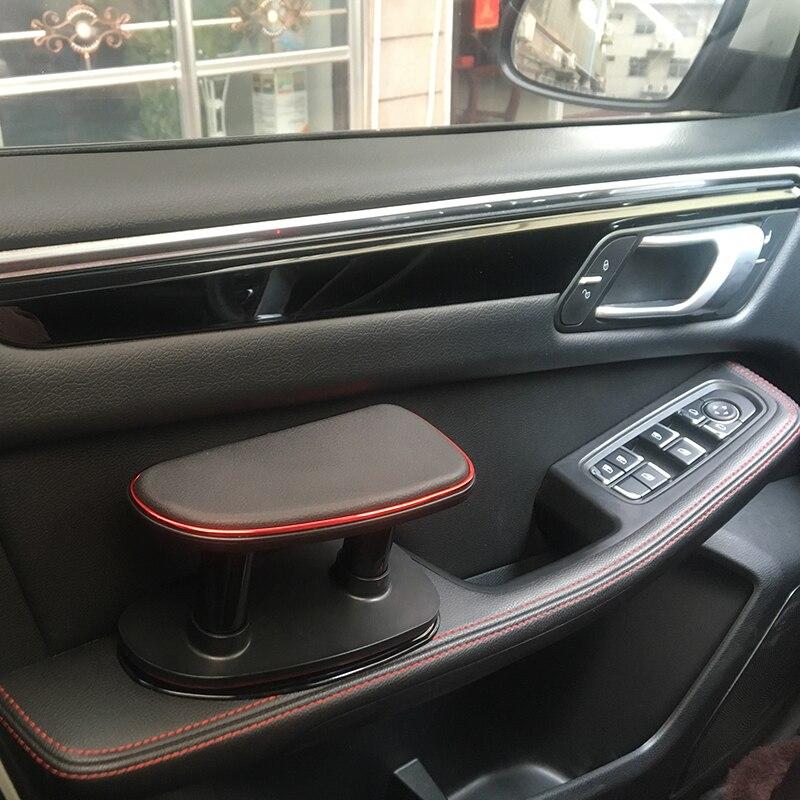 Automóvel universal anti-fadiga mão esquerda de ajuste do carro apoio de braço cotovelo apoio suporte de instalação do suporte de silicone mat