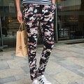 Nuevos Casual Pantalones Slim Fit Pantalones de Ropa Masculina de Los Hombres de Camuflaje Militar pantalones de Chándal Hombres TAMAÑO ASIÁTICO