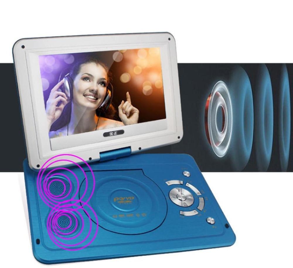 2017 Novi 14 inčni HD prijenosni rotirajući zaslon Smart TV EVD DVD - Kućni audio i video - Foto 4
