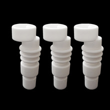 14mm & 18mm Domeless Ceramic Nail for Glass Water Bongs Instead titanium nails