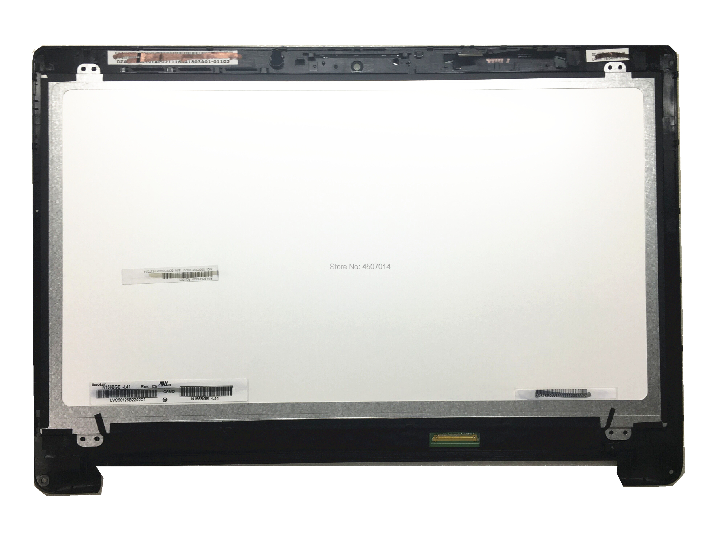 Free Shipping N156BGE-L41 Laptop Lcd Screen assembly fit for ASUS TP500 TP500LA Lcd Screen 1366*768 LVDS 40 Pins free shipping n133bge l41 rev c3 for asus s300c lcd screen up down screw holes slim laptop led display screen