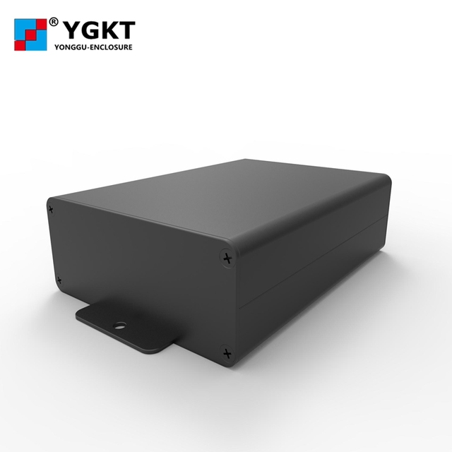 Free shipping88*38-100mm(width x high x length) aluminum extrusion box profile enclosure for PCB /enclosure with terminal covers