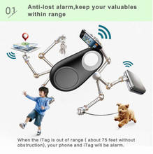 Durable Wireless Bluetooth Anti Lost Tracker Alarm Key Child Pet Finder GPS Locator Two way Finder Alarm Hot Style Self Timer(China)