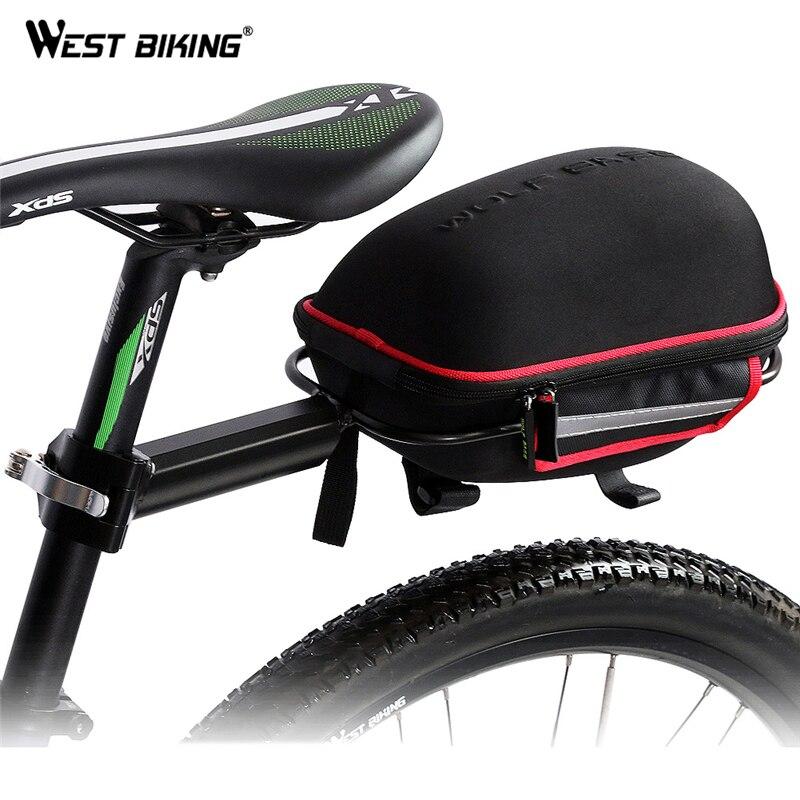 WEST BIKING Cycling font b Saddle b font font b Bag b font Reflective Waterproof Mountain
