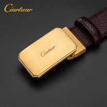 2019  NEW Ciartuar Business Luxury Design Mens Belt Solid Color Alloy Buckle Male God Waist Belt Leather Belt Men Riem Ceinture все цены