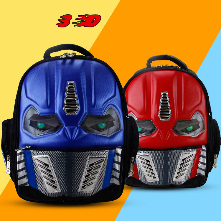 Aliexpress.com : Buy 3D New Cartoon School Bags For Boys Little ...
