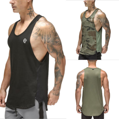 Hirigin Military 2018 New Jogger   Tank     Tops   Summer Men's Muscle Gym   Tank     Top   Body Training Engineers Sports Vest   Tops