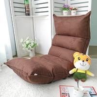 Relax Sofa krzesło meble do salonu podłoga Sofa regulowana krzesło rozkładany leżak nowoczesny fotel wypoczynkowy w Leżanka od Meble na