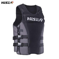 Hisea Professional Neoprene Life Vest Swimming Surfing Floating Rafting Life Vest PFD Inflatable Water Sports Safety Life Vest