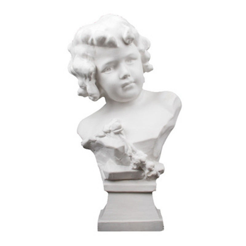 Little Angel Plaster Model Fine Art Sketch Roman Mythology Love God Cupid Mars Sculpture Action Figure Doll G703 little love