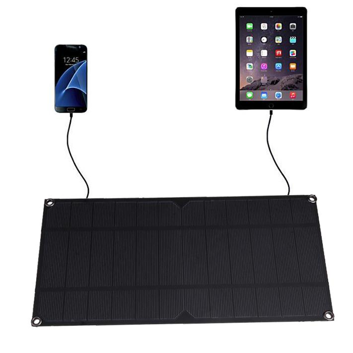 Original Portable Travel Solar Panel Battery Charger USB 5V 6W 1.2A for Power Bank Supply Fasion Travelling For Smart Phones