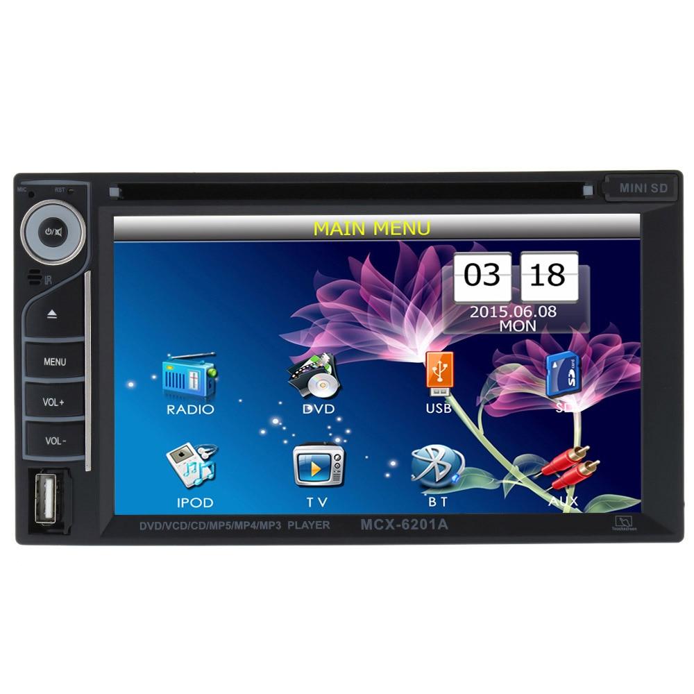 Universal 6.2 Inch Car Electronic Autoradio 2 din Car DVD Player Multimedia Bluetooth FM for Volkswagen блокада 2 dvd