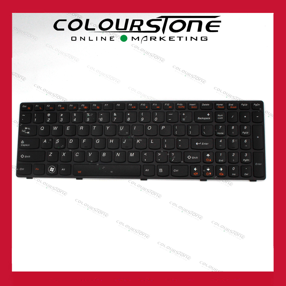 New US Laptop Keyboard for LENOVO Y580 with Backlit Laptop Keyboard jigu new 6 cells laptop battery for lenovo g580 z380 z380am y480 g480 v480 y580 g580am l11s6y01 l11l6y01