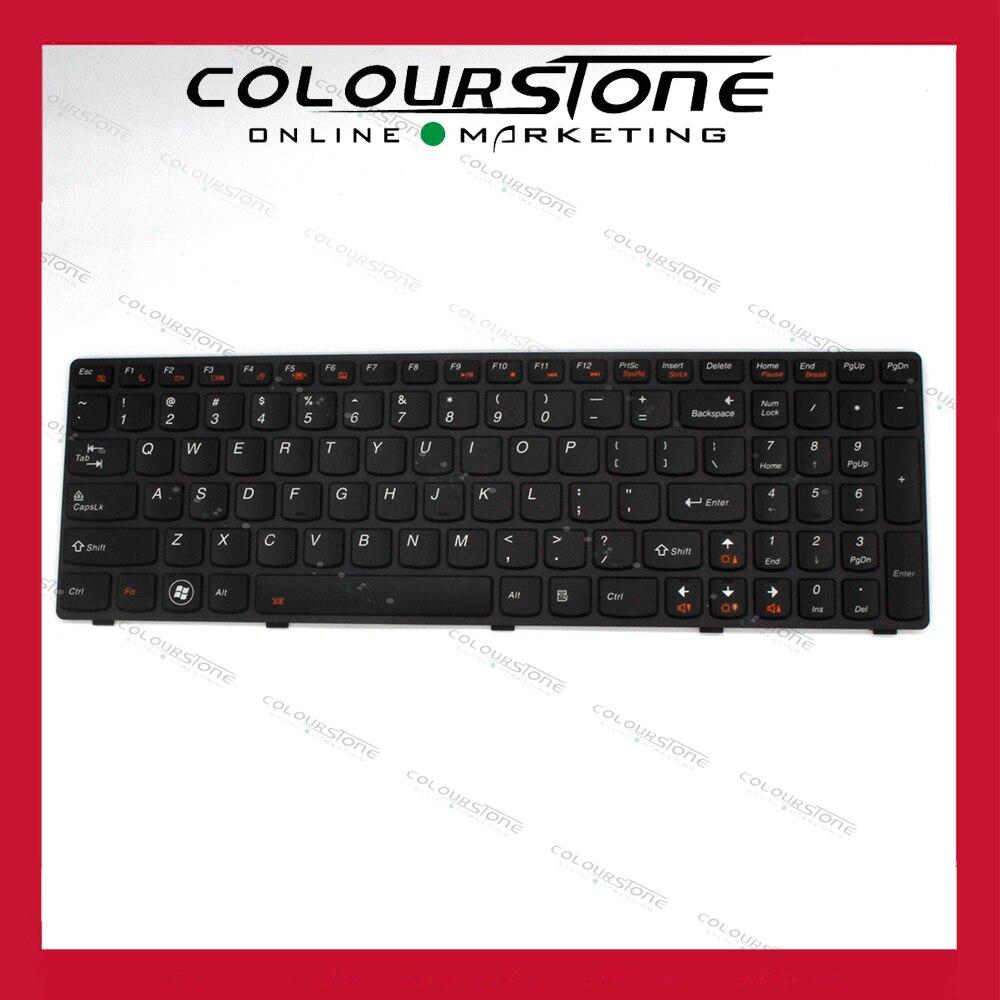 Nouveau clavier d'ordinateur portable us pour LENOVO Y580 avec clavier d'ordinateur portable rétro-éclairé