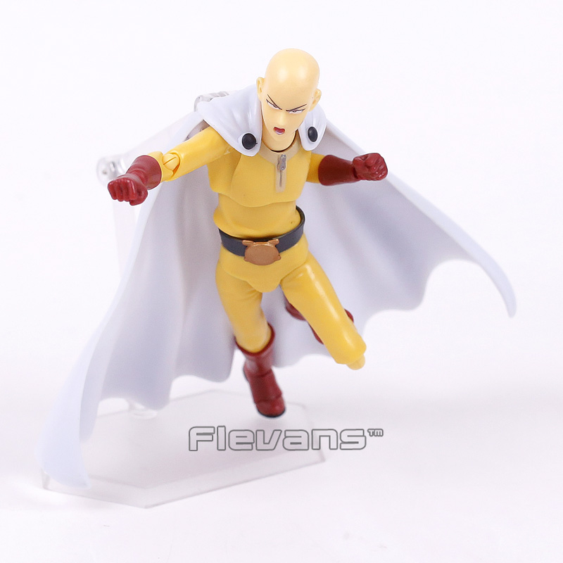 ONE PUNCH MAN Figma 310 Saitama Sensei PVC Action Figure Collection Model Kids Toy Doll brinquedos 14cm 3pcs lot cute one punch man figure saitama sensei figure keyring keychain kids toys model doll toy gift