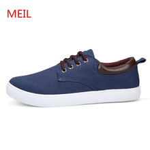 2018 Spring Summer Casual Shoes Men Canvas Shoes For Men chaussure homme Lace-Up Brand Fashion Breathable Male Flat Shoes