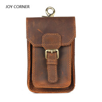 Portable Hand Made Mini Genuine Leather Document Bag 17 3 10cm