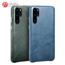 XOOMZ Brand For Huawei P30 Pro Case Genuine Leather Vintage Phone Cases for Huawei P30 Ultra thin Back Cover