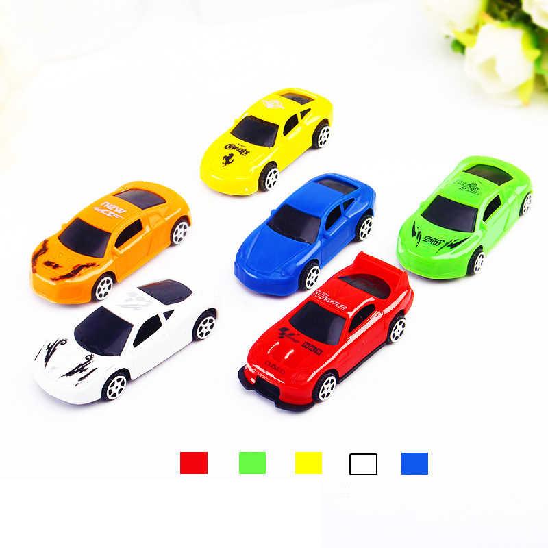 5 unids/set Q versión lindo coche modelo juguetes para niños regalo mini pista coches juguete niños bebé juguetes educativos
