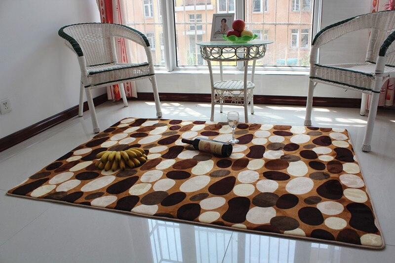 Tapis textile à la maison épaississement super grand tapis de laine salon table de thé chambre lit tapis tapis tapis de sol 160*230 cm