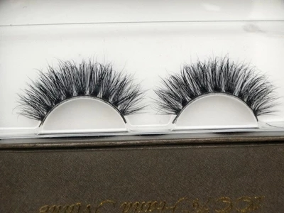Pure Handmade 100% real Mink False eyelashes 3