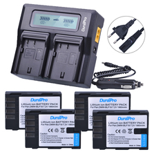 4X 1860mAh DMW BLF19 DMW BLF19E DMW BLF19PP BLF19 BLF19E Battery LCD Display Dual Quick Charger