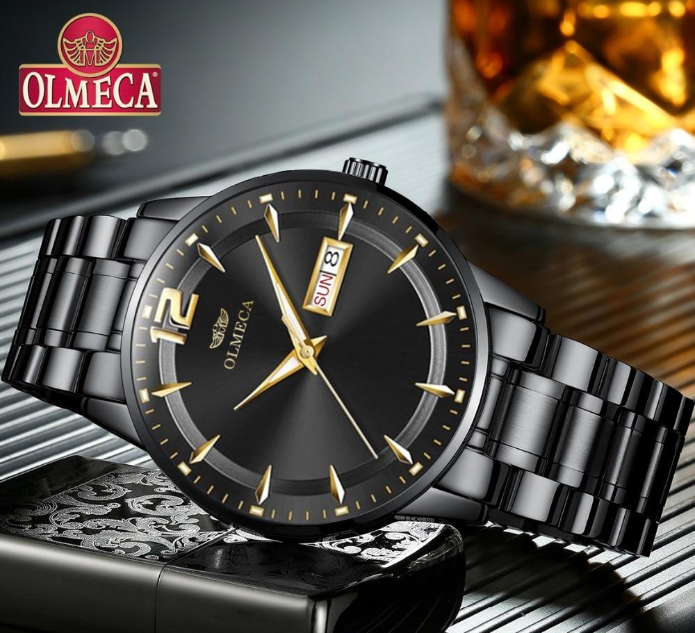 OLMECA Heren Horloges Topmerk Luxe Militair Casual horloge - Herenhorloges - Foto 1